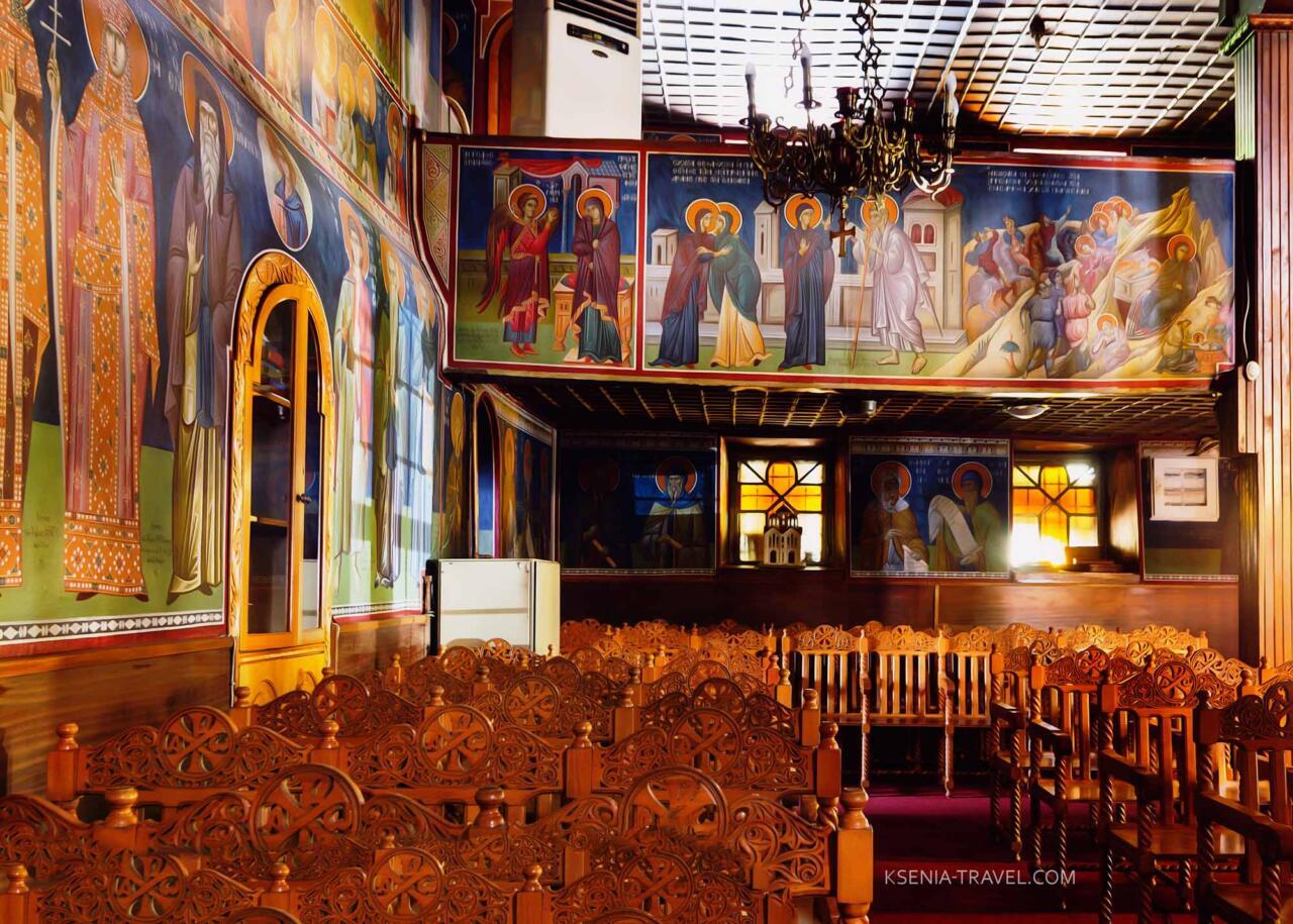 убранство церкви Панагия Лаодигитрия (Лагудиани), Салоники
