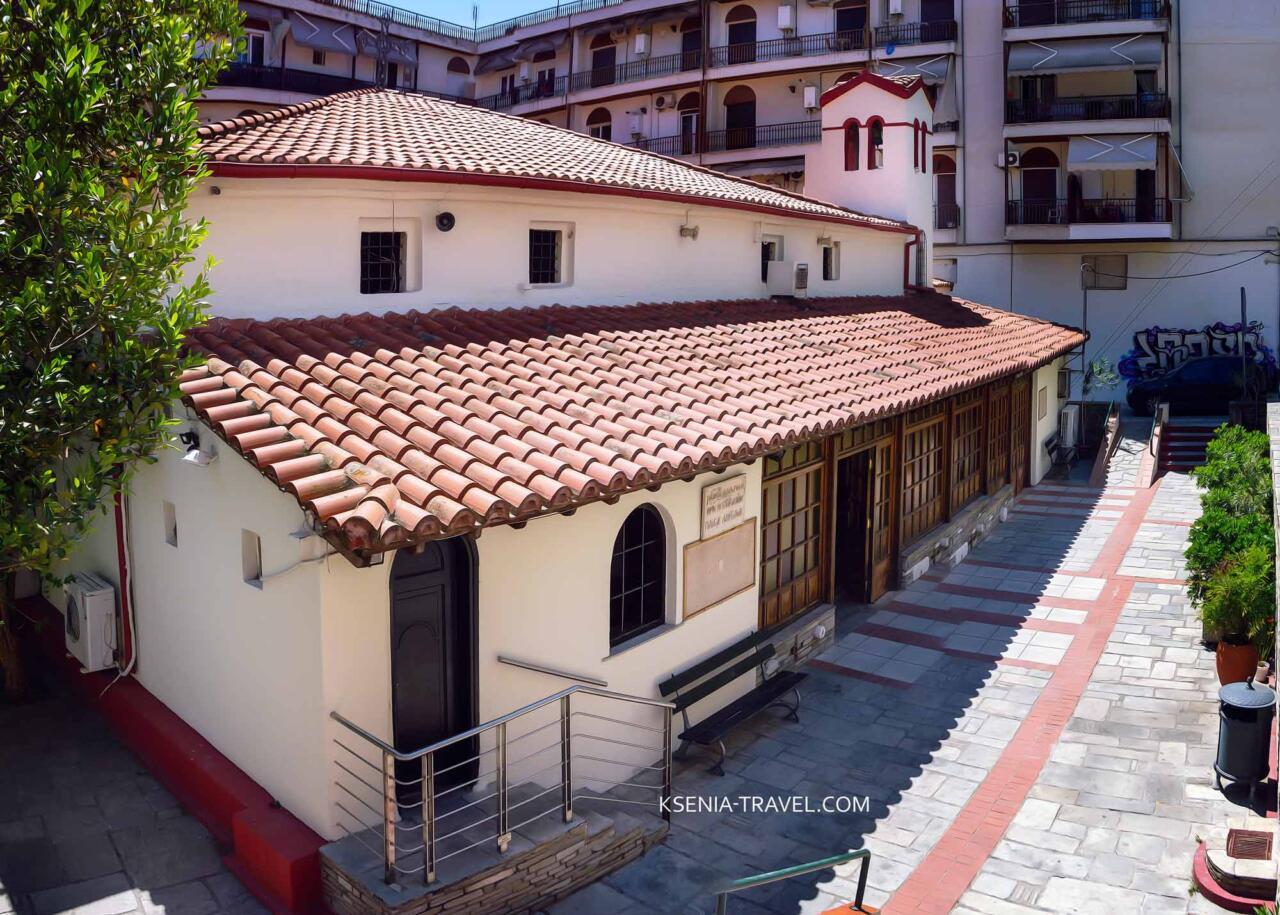 Храм Панагия Лаодигитрия (Лагудиани), достопримечательности Салоники