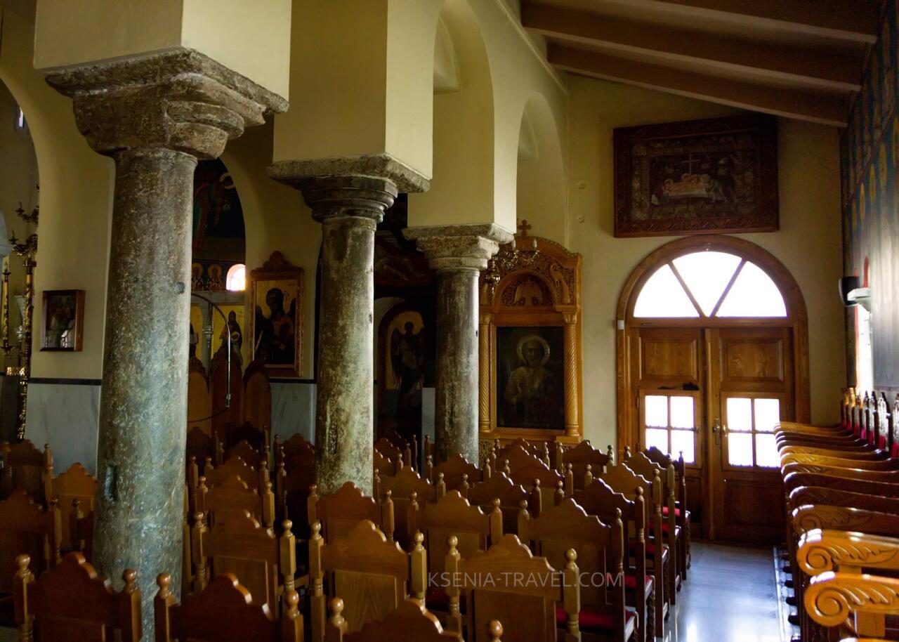 южный неф храма Архангелов, Салоники