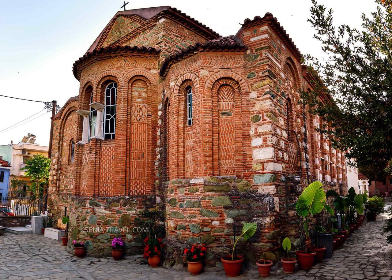 Храм Архангелов Михаила и Гавриила, достопримечательности Салоники
