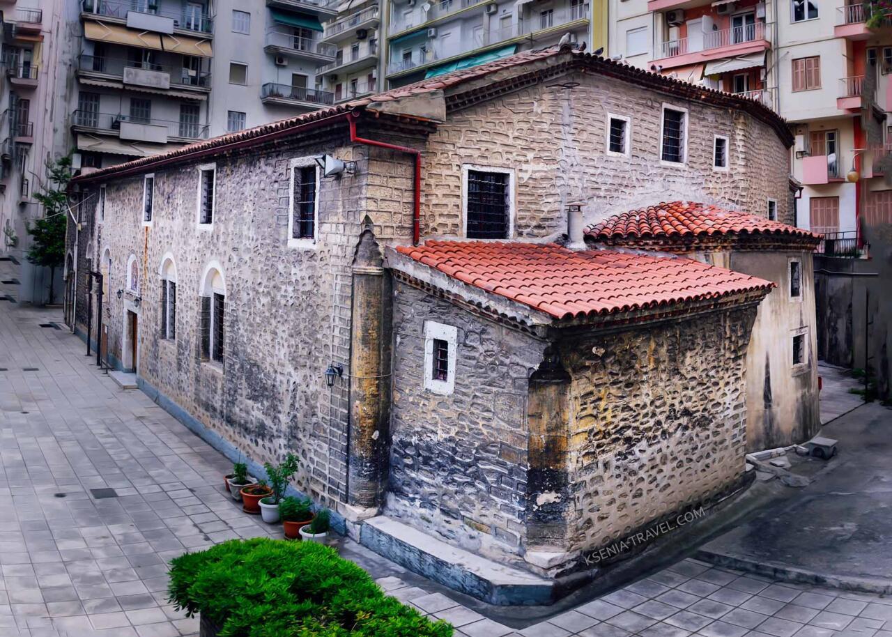 храм Святого Афанасия, достопримечательности Салоники