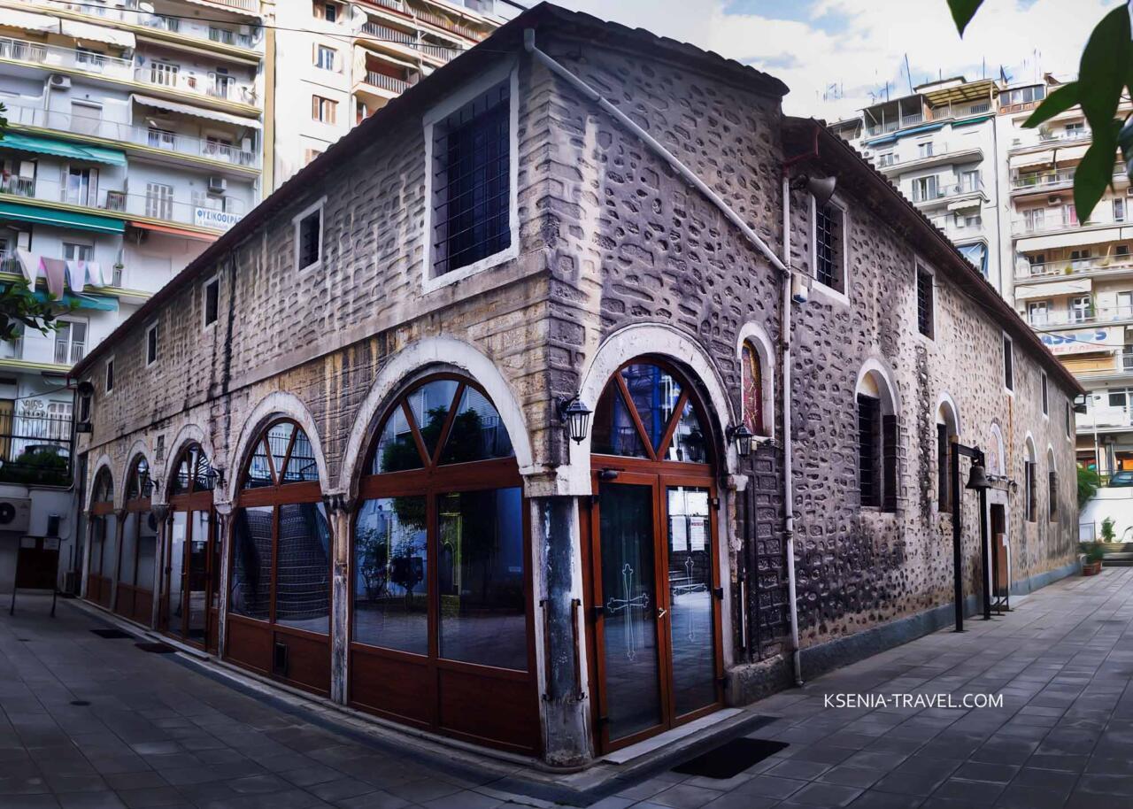 церковь Святого Афанасия, достопримечательности Салоники