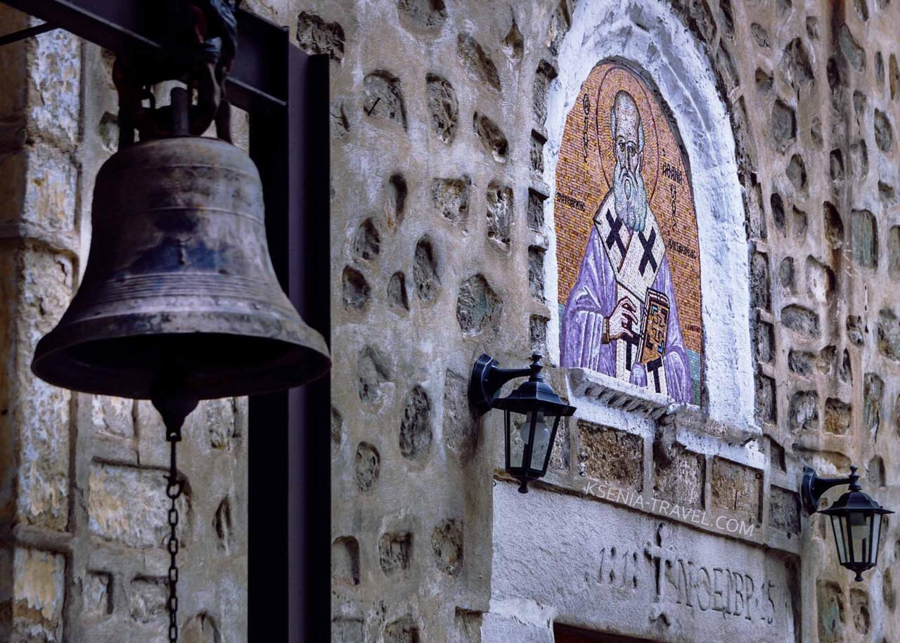 мозаика храма Святого Афанасия, достопримечательности Салоники
