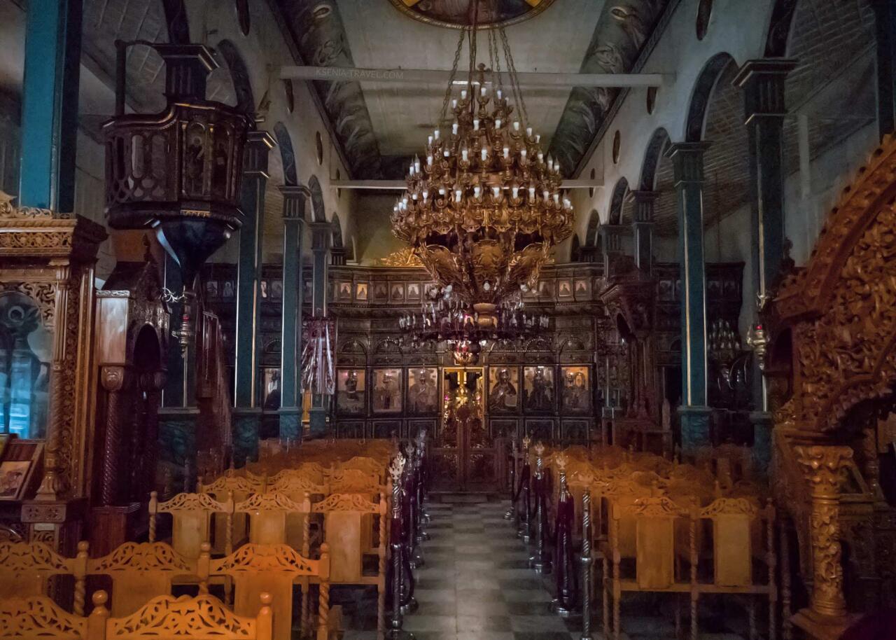 внутреннее убранство храма Ипапанти (Сретения Господня), Саллоники