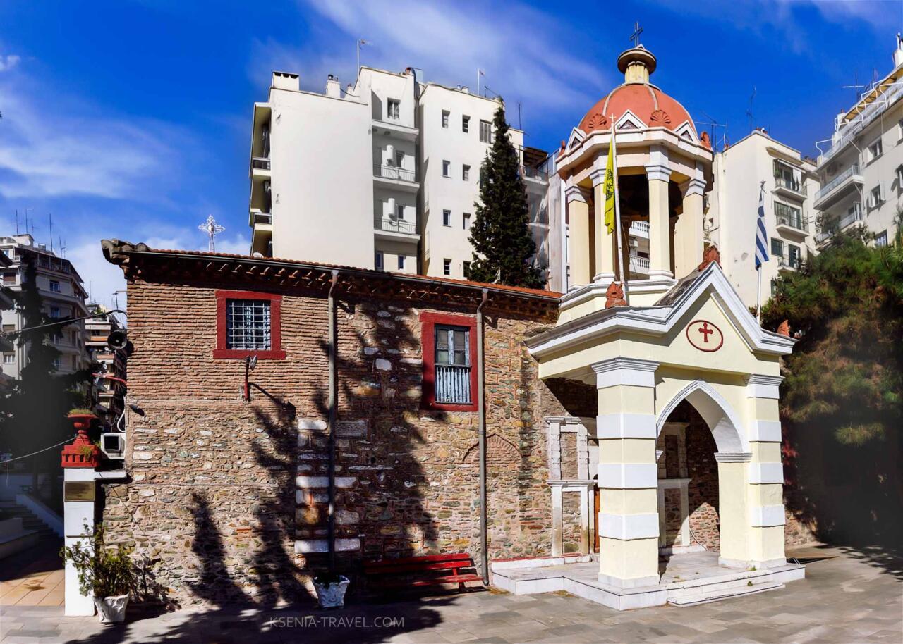 Храм Неа Панагия (Успения Пресвятой Богородицы, достопримечательности Салоники