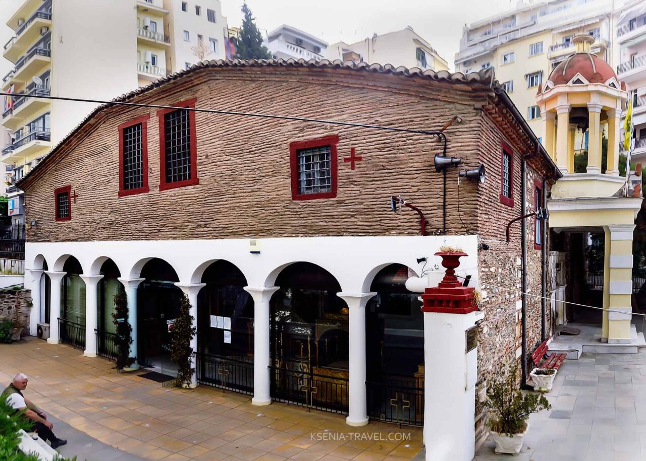 Храм Неа Панагия (Успения Пресвятой Богородицы, церкви Салоники