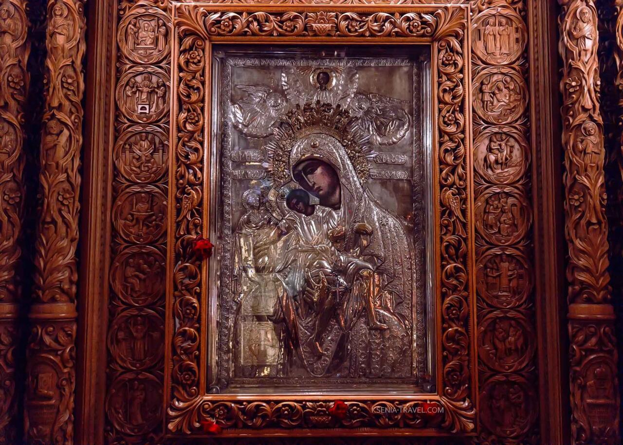 икона Богородицы Елеуса (Декса), достопримечательности Салоники