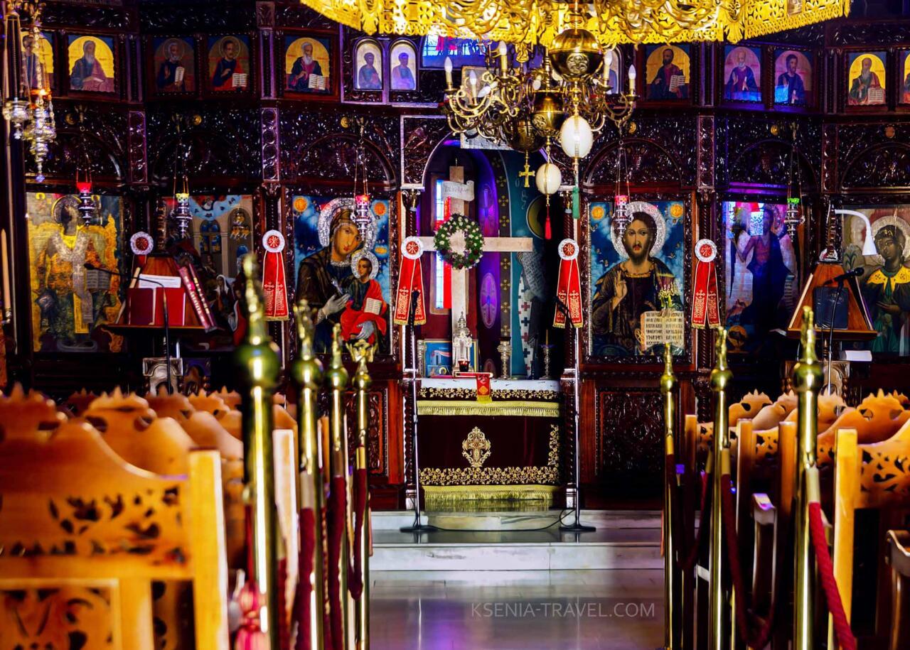 Храм Панагуда (рождения Богородицы), Панагия Горгоэпикоос (Скоропослушница)