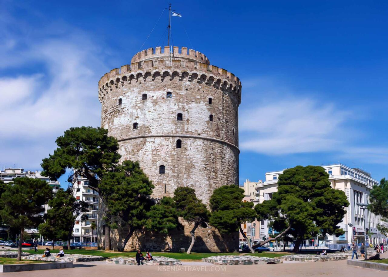 история Белой башни в Салониках
