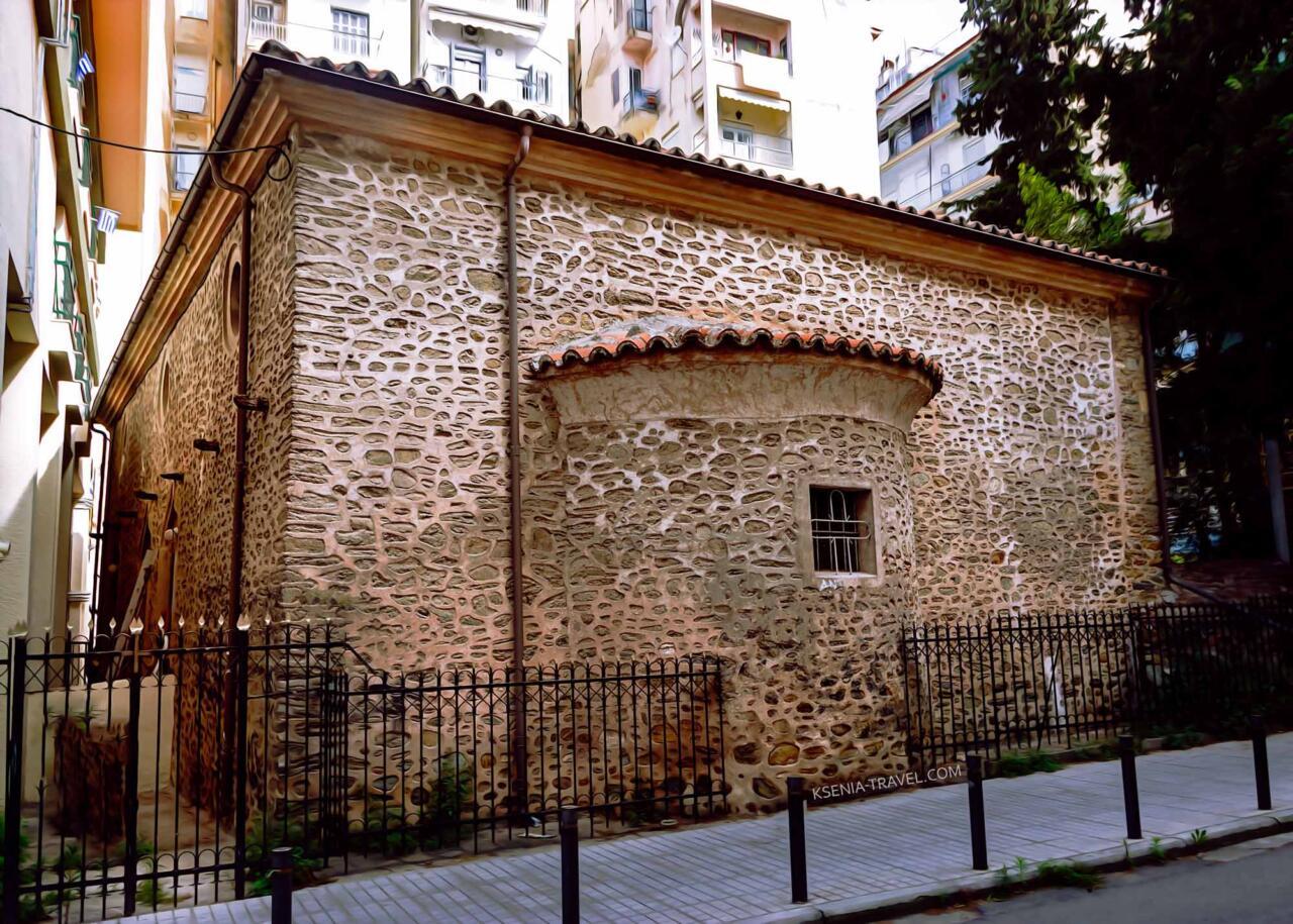 храм Святого Антония, достопримечательности Салоники