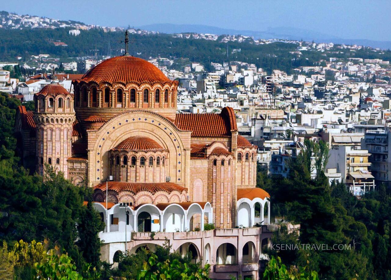 храм Святого апостола Павла, достопримечательности Салоники