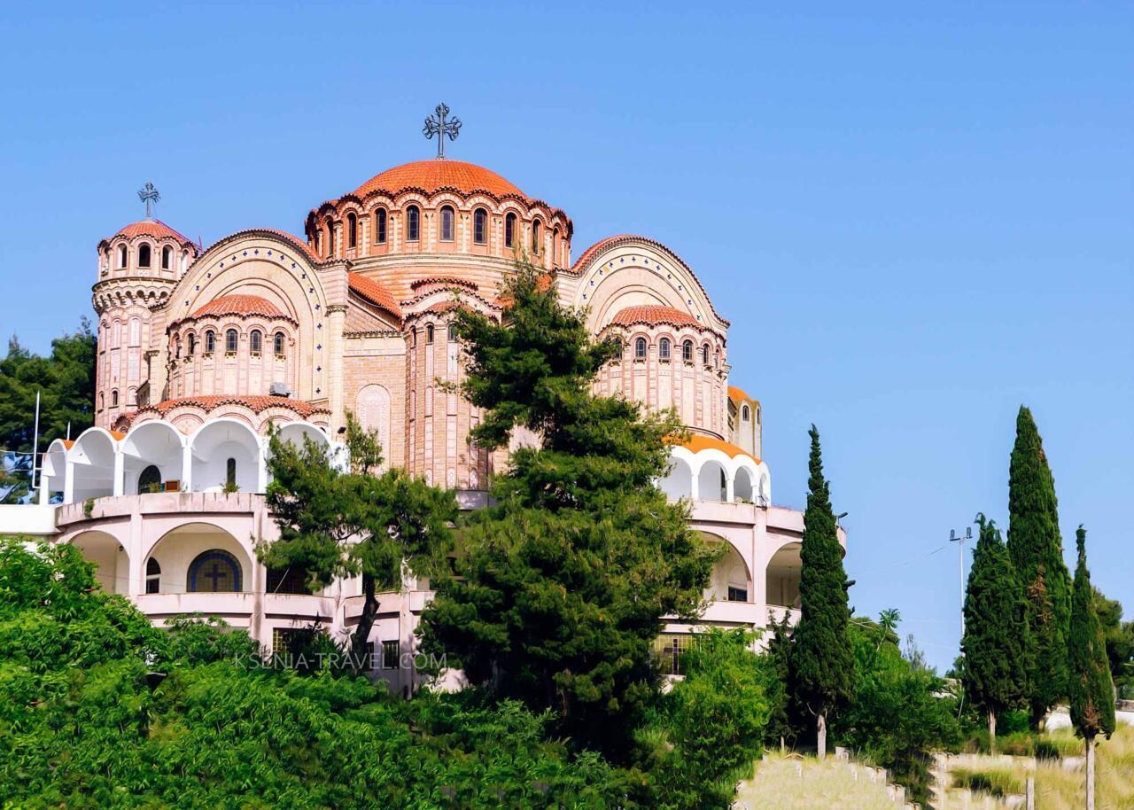 храм апостола Павла, достопримечательности Салоники