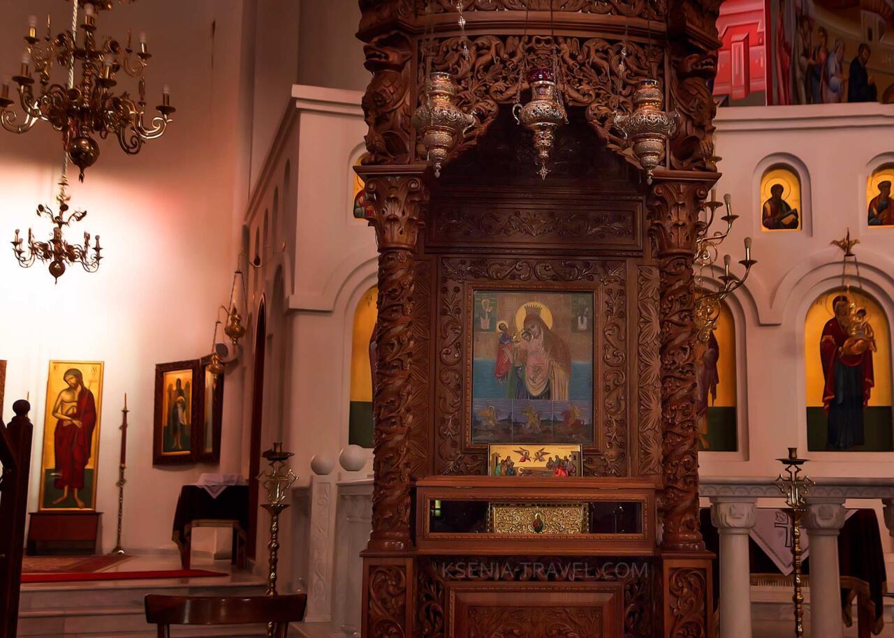 мощи апостола Павла в храме, достопримечательности Салоники