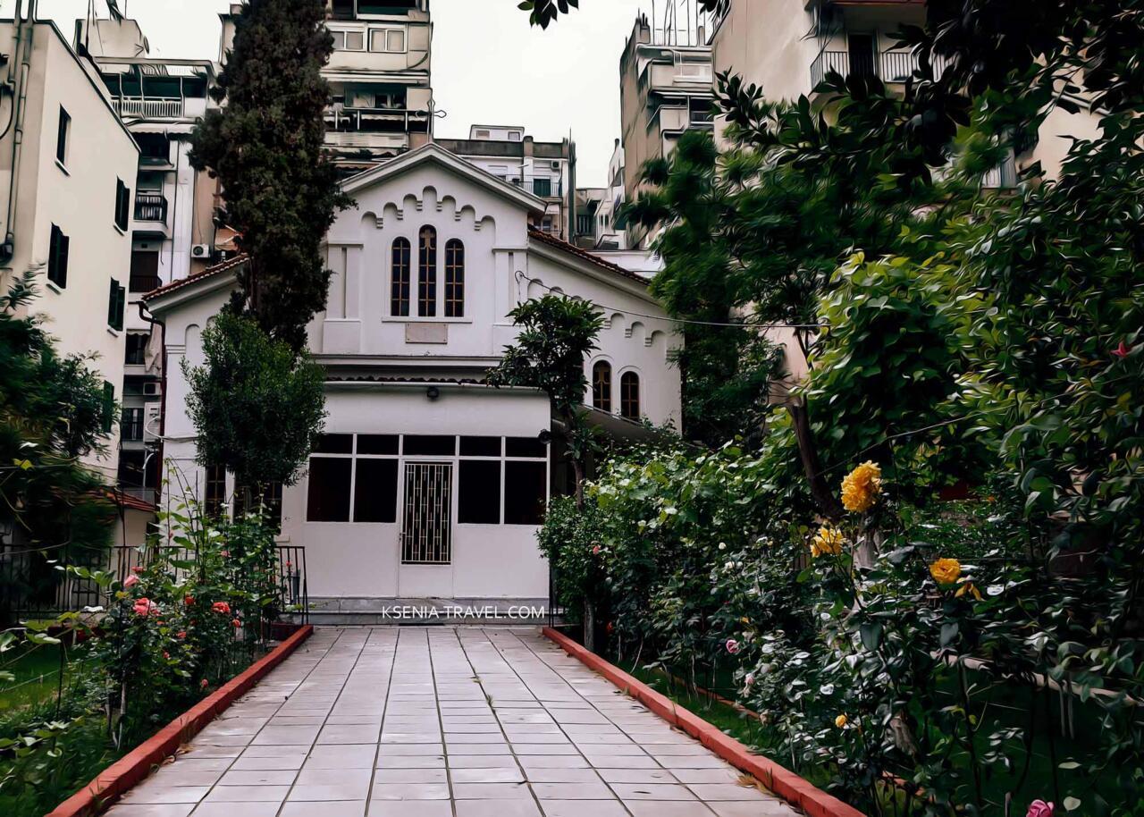 Храм Святого Николая Трану, достопримечательности Салоники