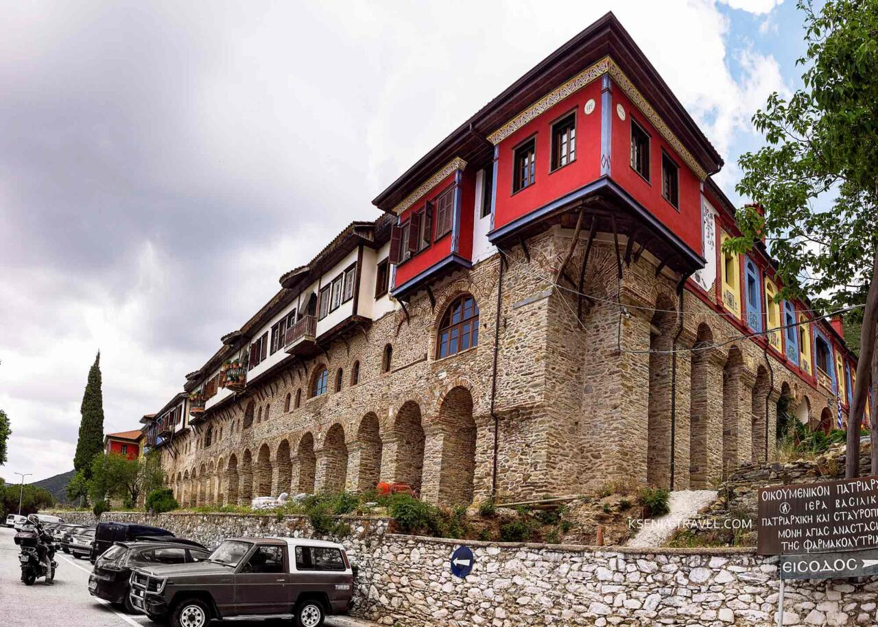 Монастырь Святой Анастасии Узорешительницы, Салоники