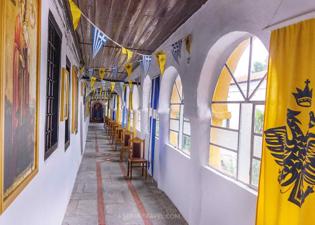 кельи монастыря святой Анастасии Узорешительницы