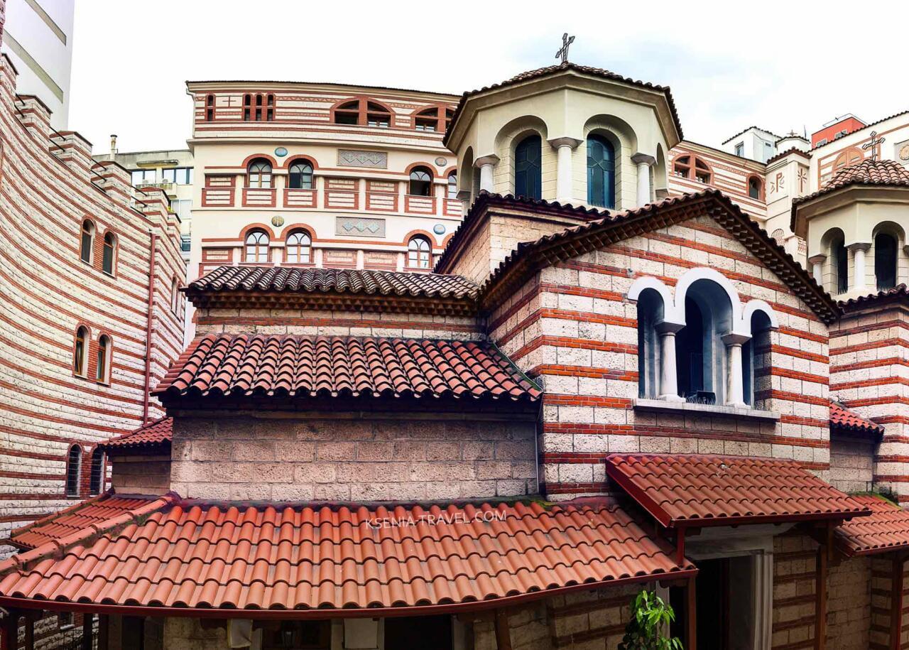 Монастырь Святой Феодоры Солунской, достопримечательности Салоники