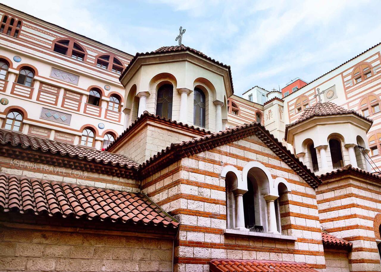 Монастырь Феодоры Солунской, достопримечательности Салоники