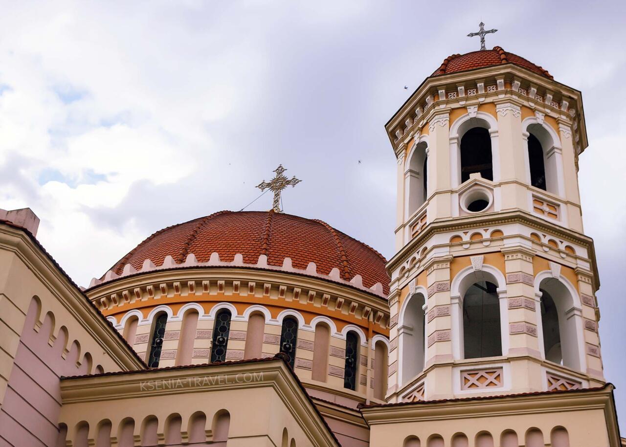 Собор Святого Григория Палама, достопримечательности Салоники