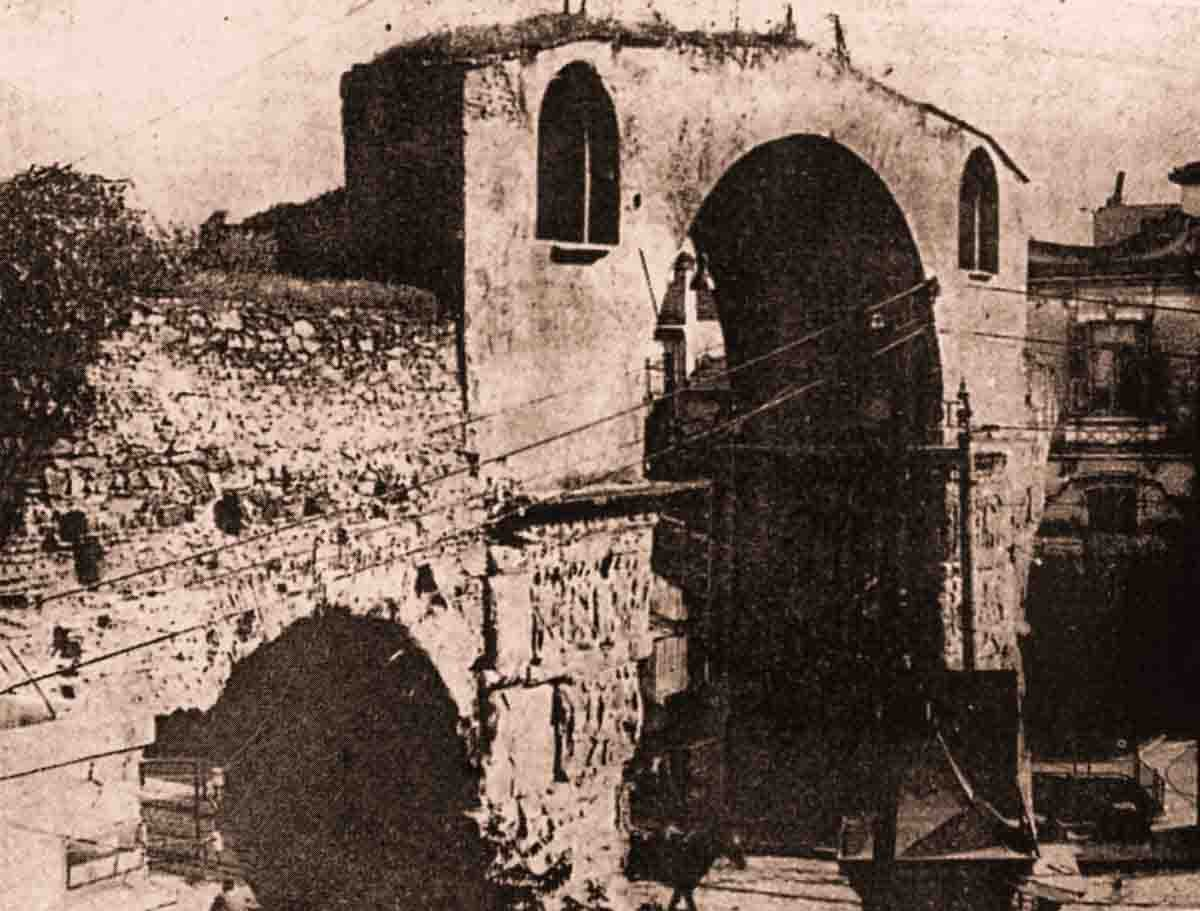 Арка Галерия в начале 20-го века, Салоники