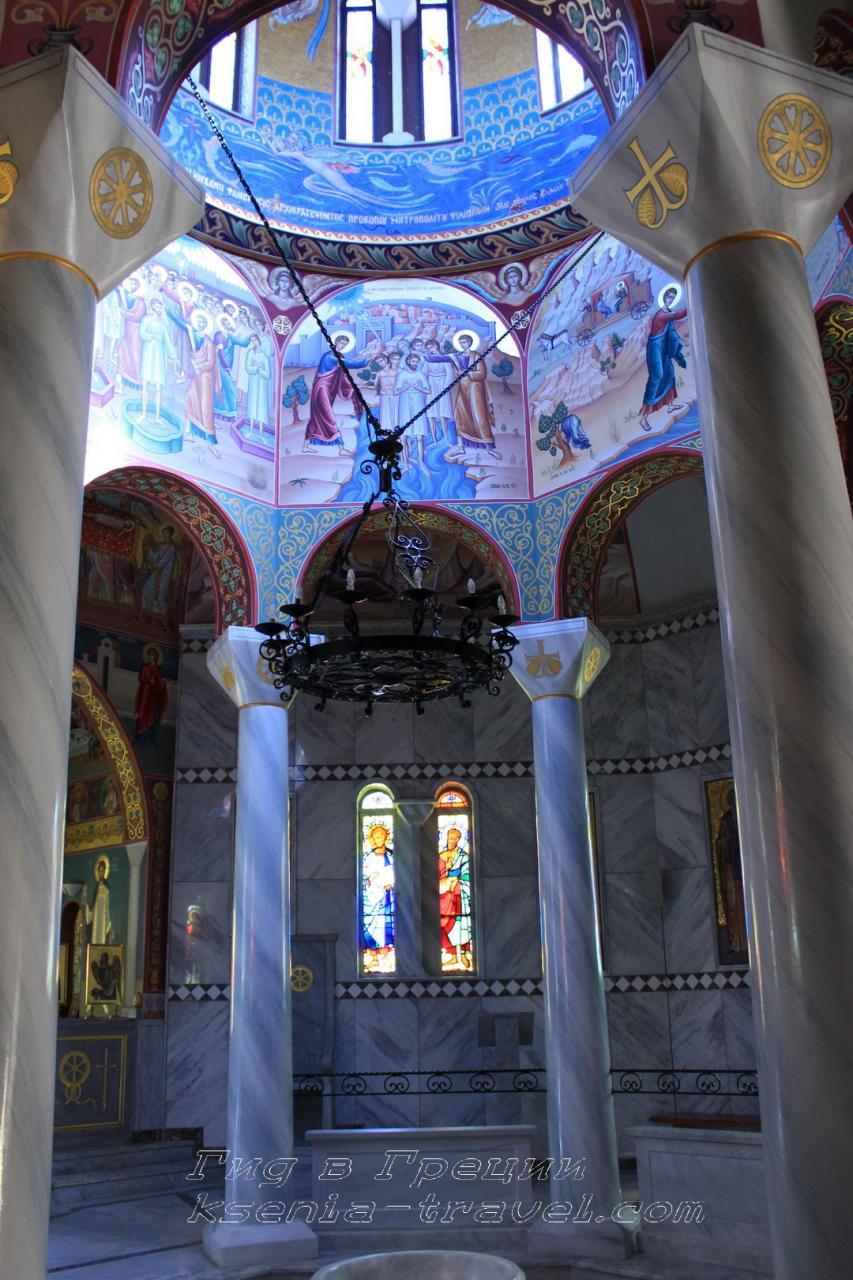 баптистерий святой Лидии, Греция