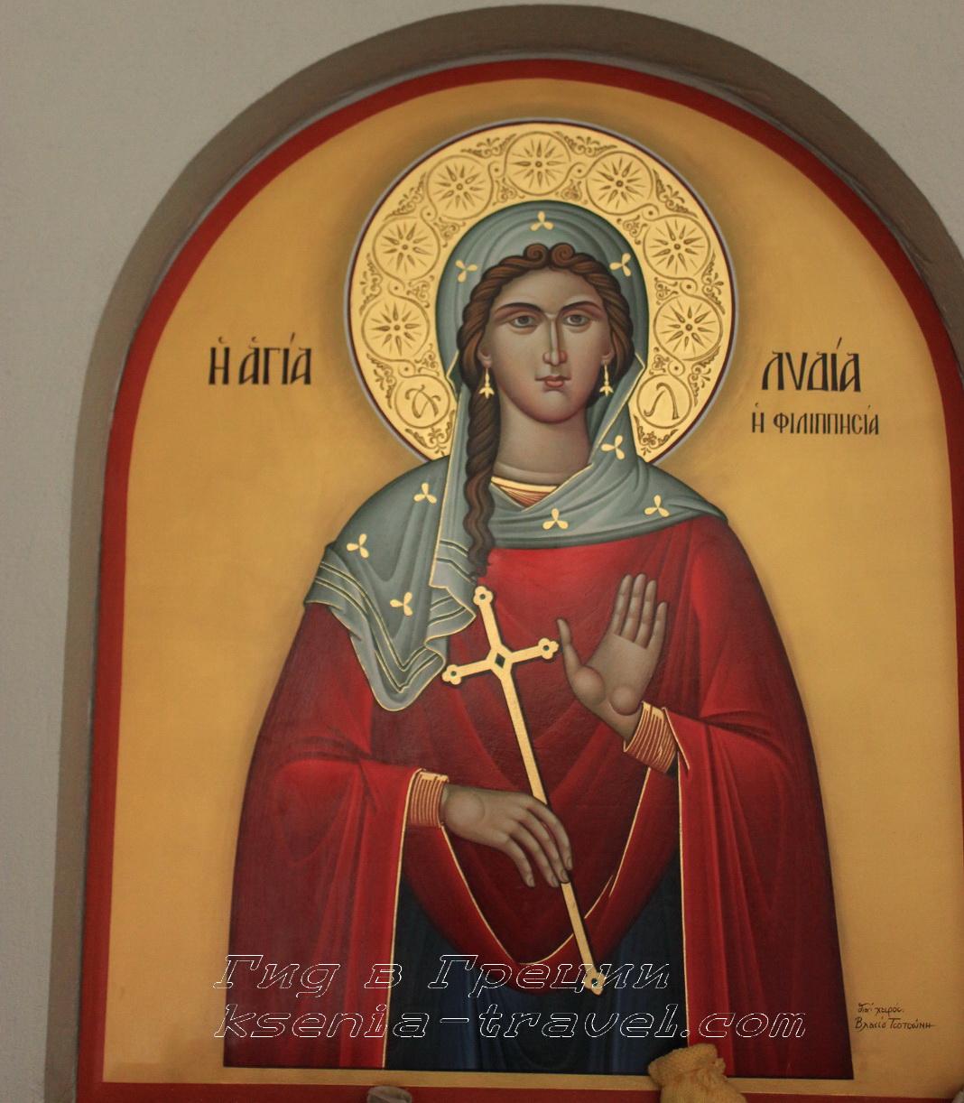 баптистерий святой Лидии в Филиппах