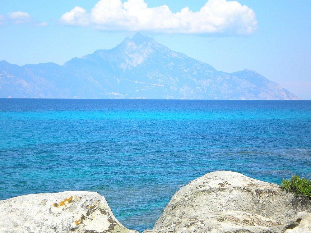 Полуостров Халкидики, гора Афон