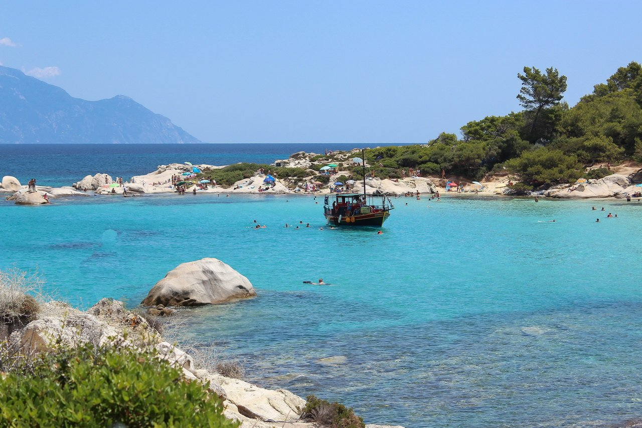 Полуостров Халкидики, Ситония, Греция