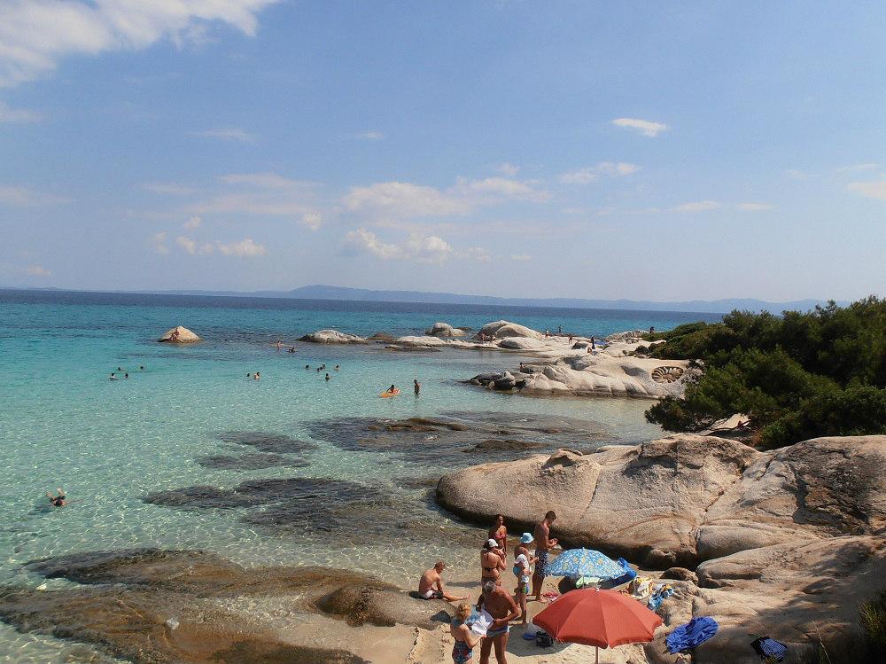 Экскурсия на полуостров Халкидики, Греция