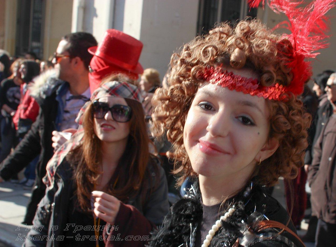 Карнавал на улицах Салоник?