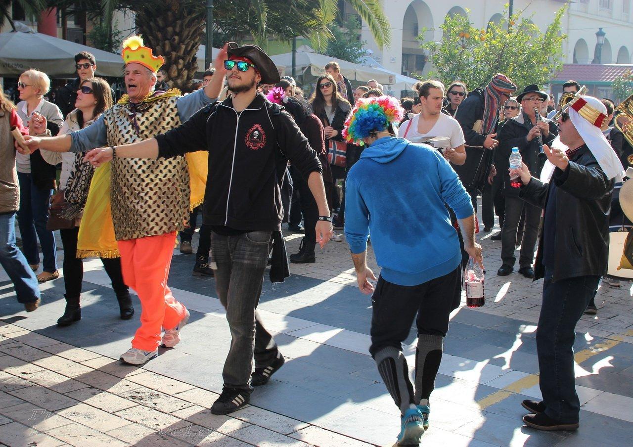 карнавал в Салониках
