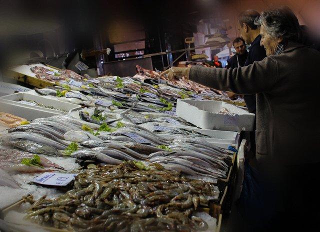 рыба и морепродукты в Салониках