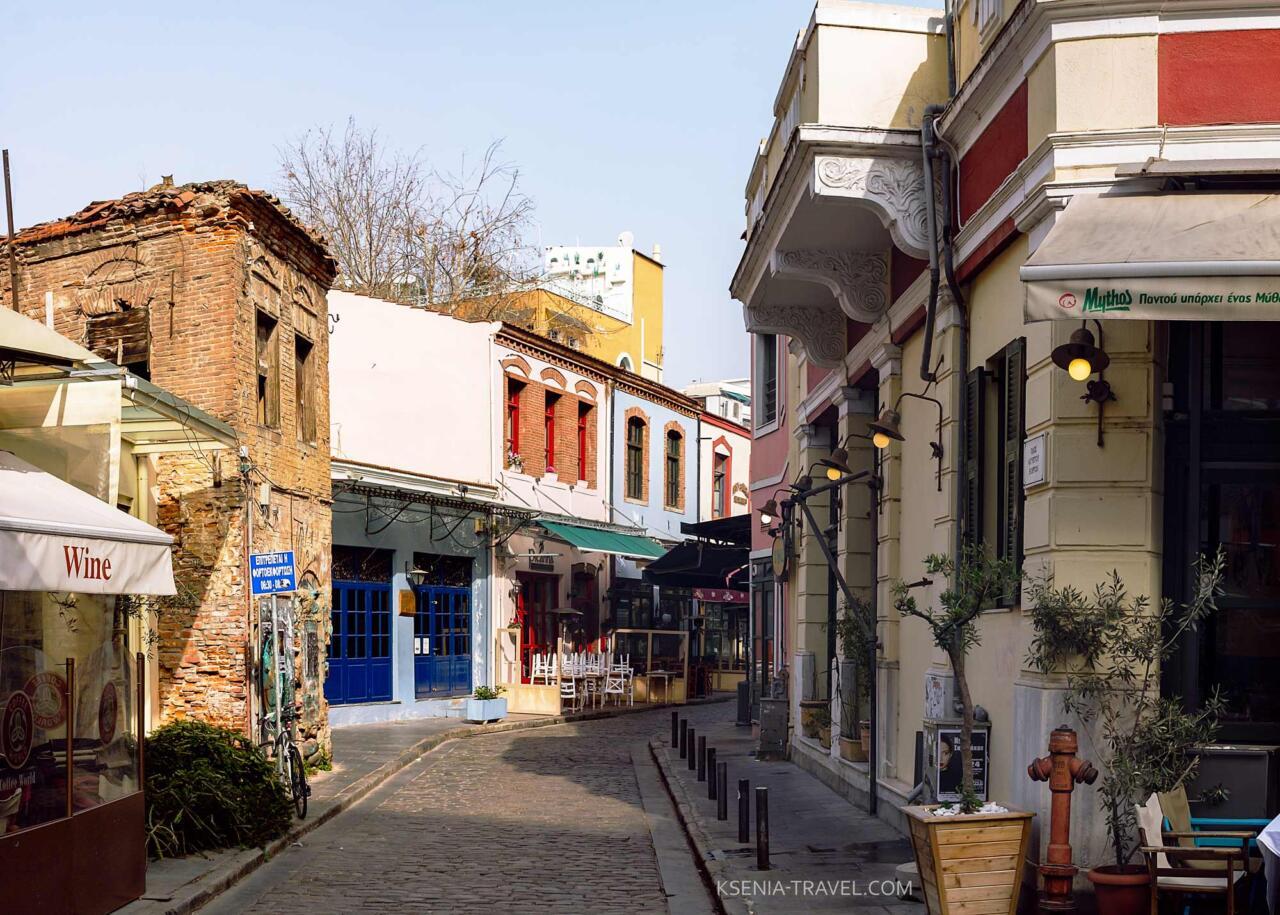 бывший портовый район Лададика в Салониках, Греция