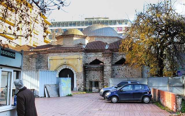 мечеть Хамза Бей в Салониках, Греция