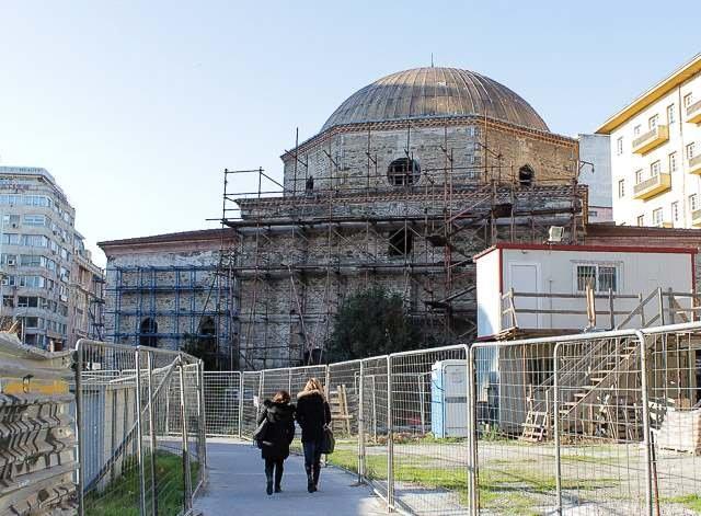 Хамза Бей мечеть в городе Салоники