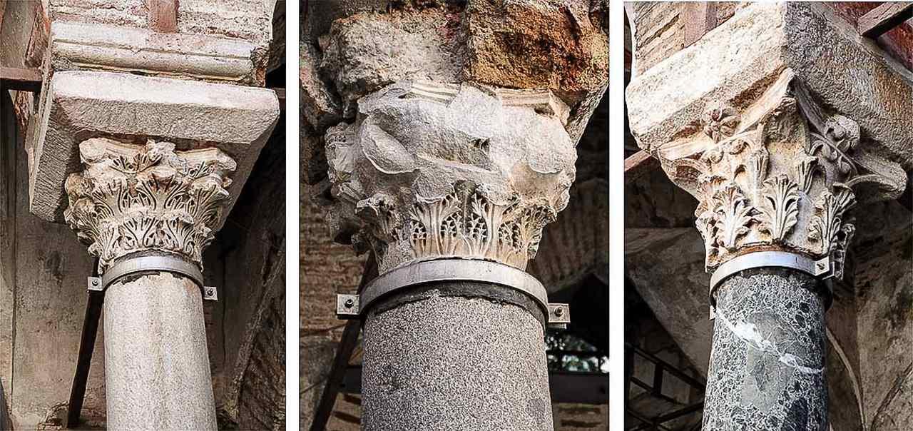 капители колонн мечети Хамза Бей в Салониках