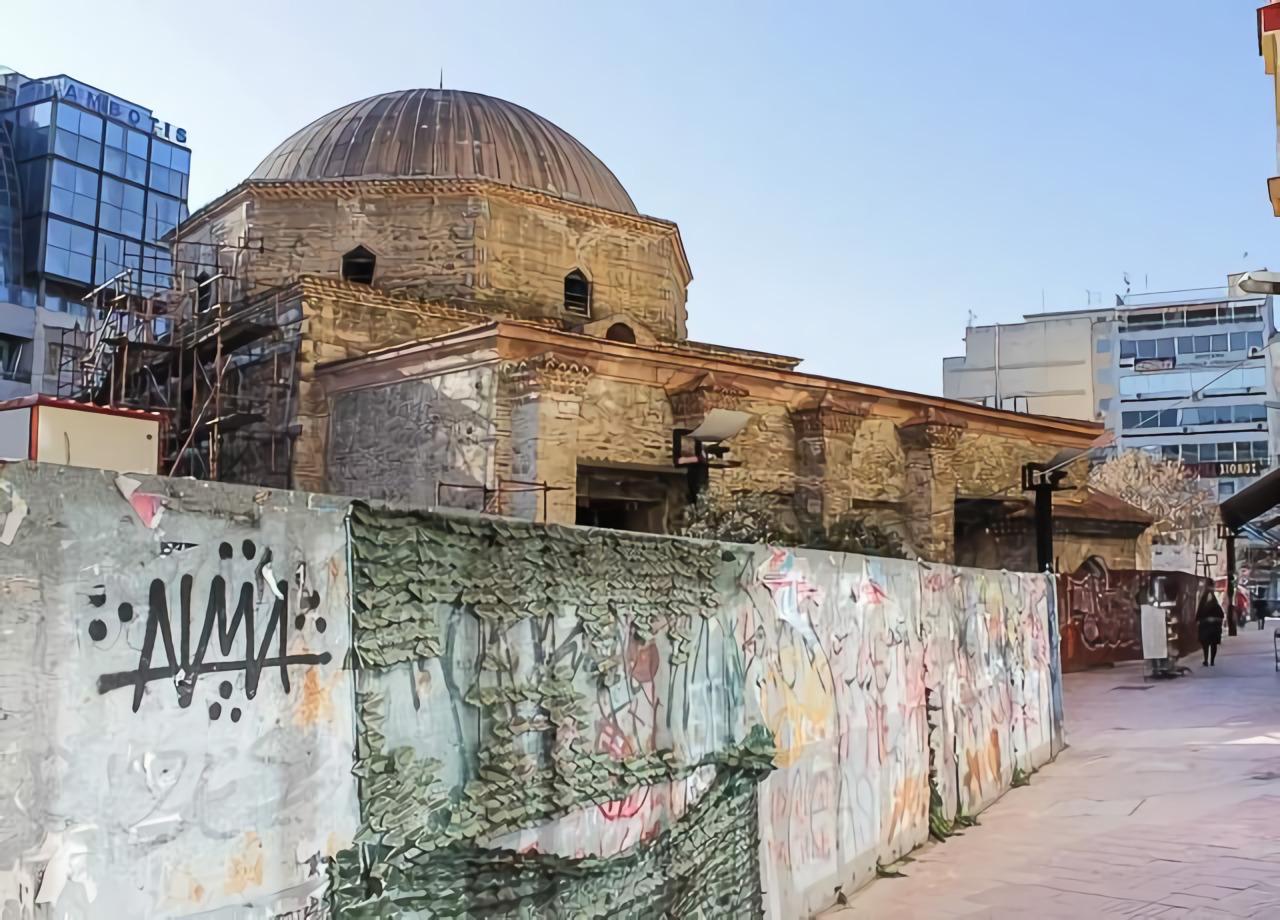 Хамза Бей - первая мечеть в Салониках