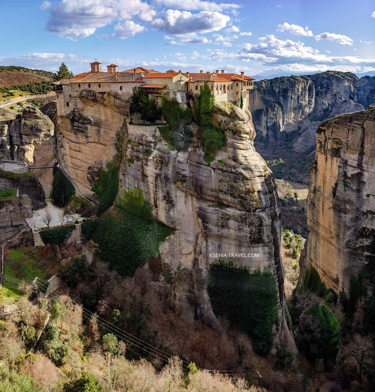 Монастырь Варлаама, монастыри Метеоры в Греции