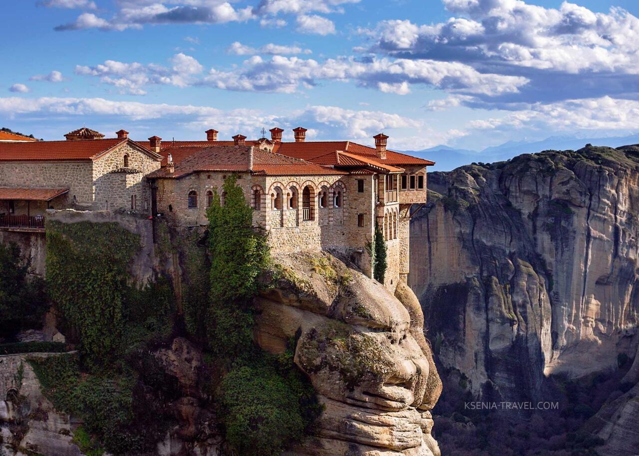 Монастырь Варлаама (всех Святых), монастыри Метеоры, Греция