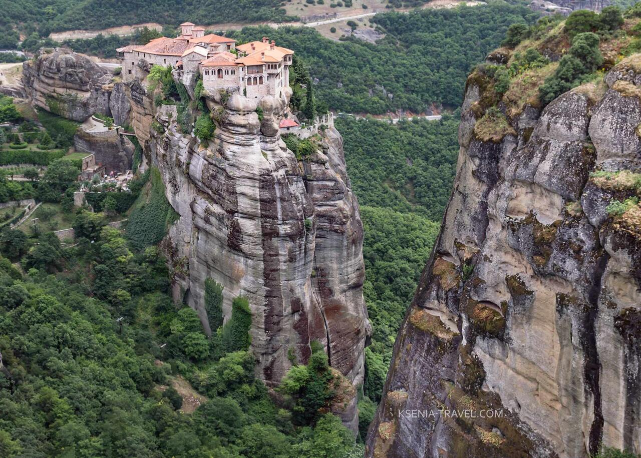 Метеоры, Греция, монастырь Варлаама