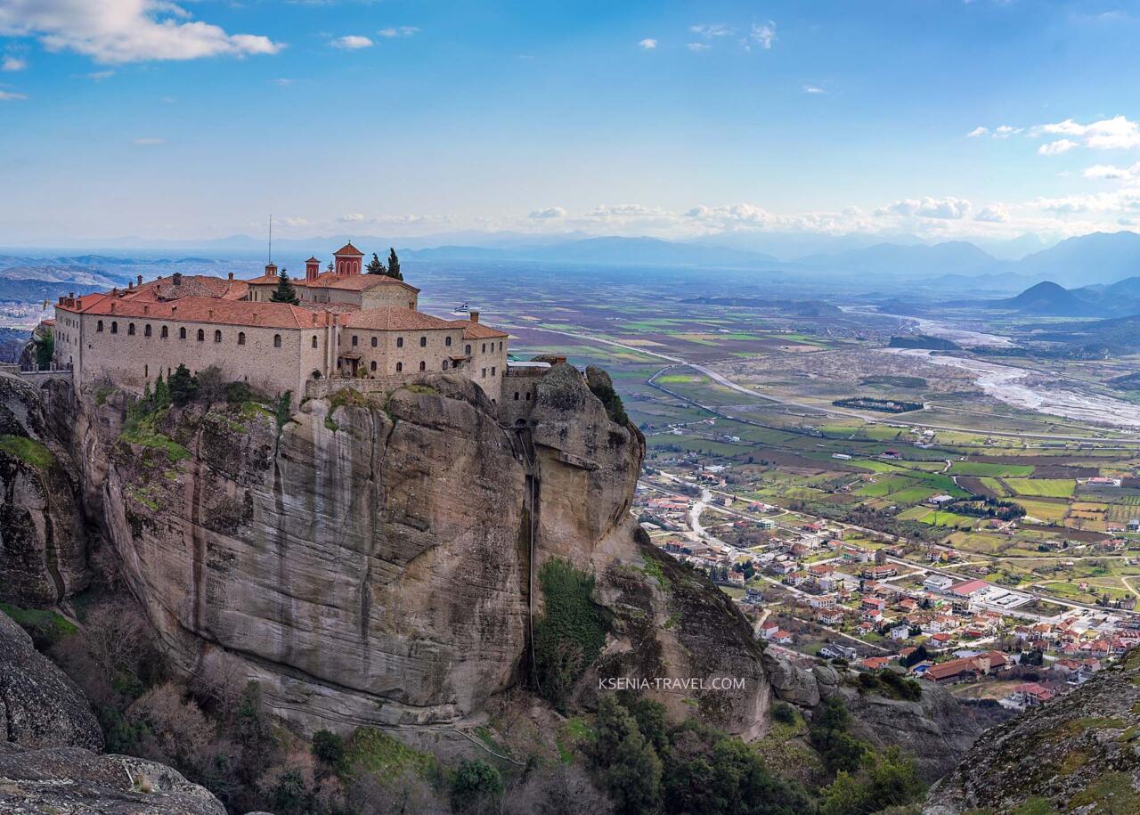 Монастырь св. Стефана,, экскурсия в монастыри Метеоры, Греция