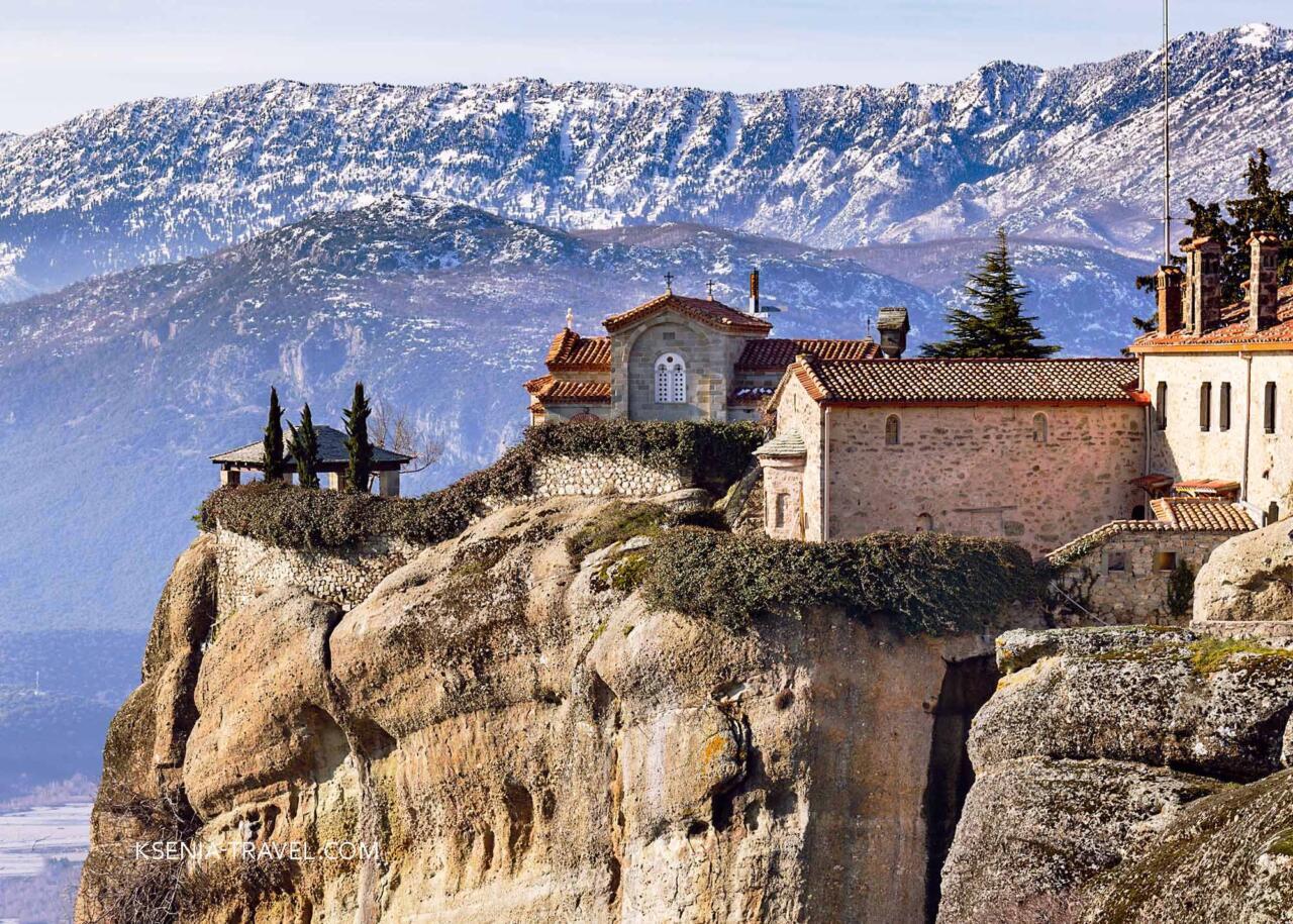 монастырь святого Стефана, Метеоры Греция