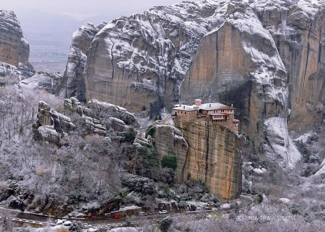 Монастырь Русану (святой Варвары), монастыри Метеоры