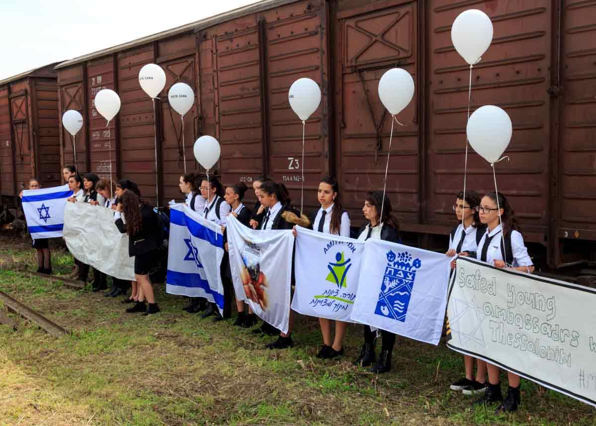 евреи Салоники, станция откуда отправлялись эшелоны в Освенциум