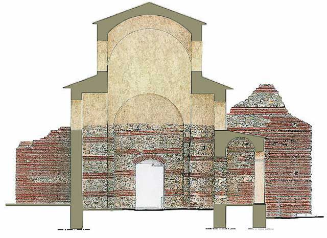 Октагон дворца императора Галерия, Салоники