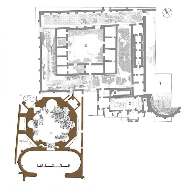 план-схема Октагона, Салоники