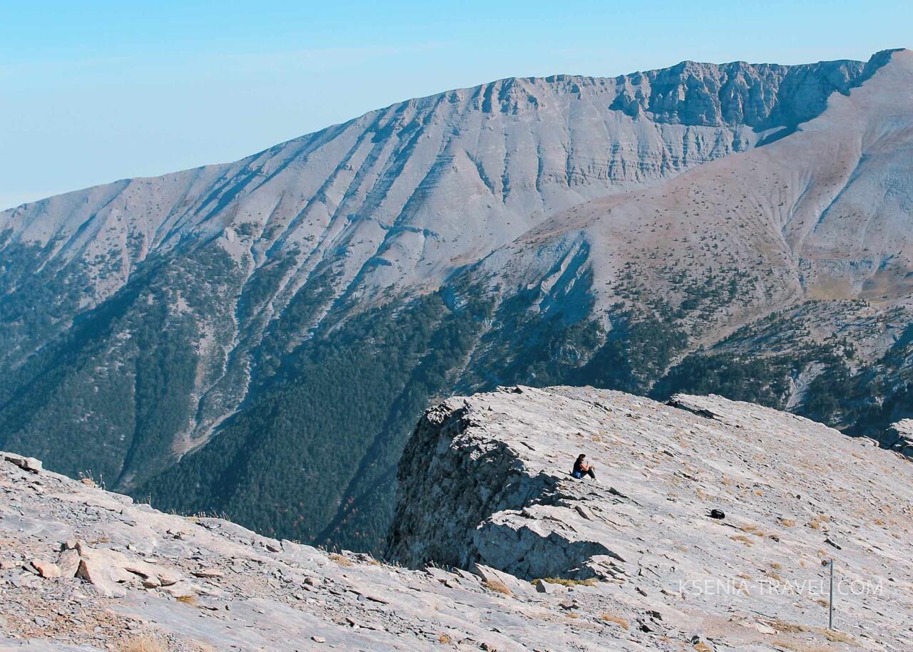 горный массив Олимп в Греции