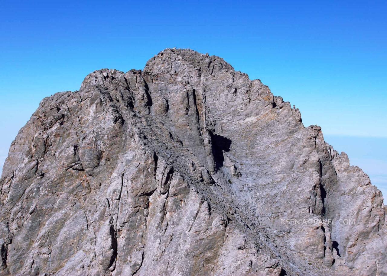 Митикас-вершина горного массива Олимп, Греция