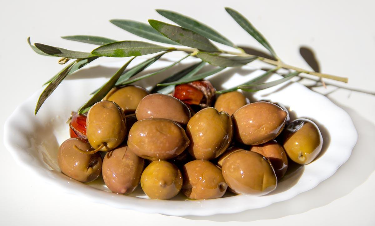 греческие оливки сорта Халкидики
