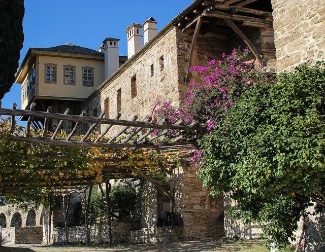 монастырь Ставроникита на святой горе Афон, Греция